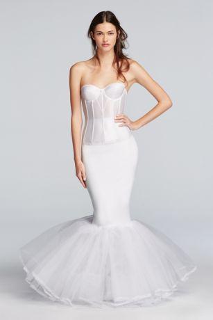Extreme Mermaid Silhouette Slip Davids Bridal