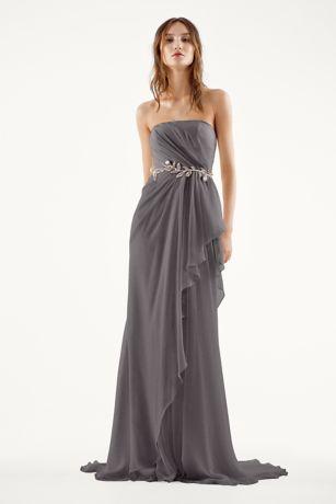 Crinkle Chiffon Bridesmaid Dresses