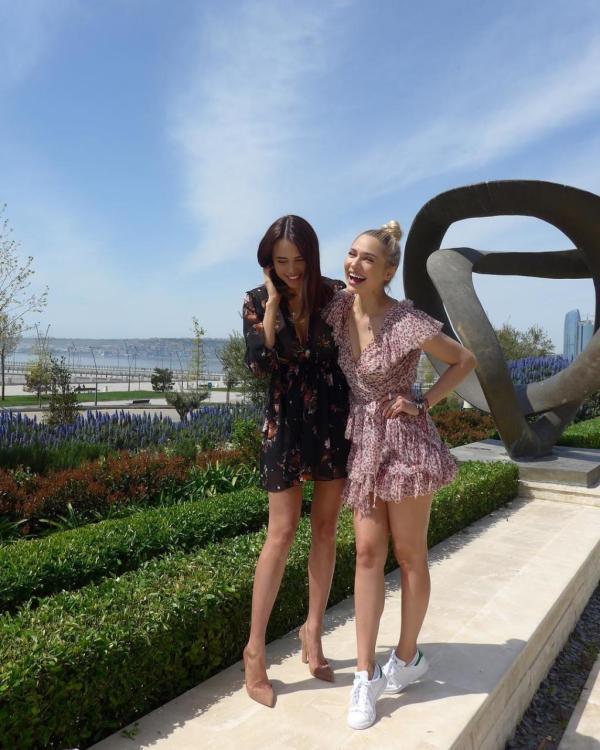 Баку в Instagram российских звезд - ФОТО - ВИДЕО