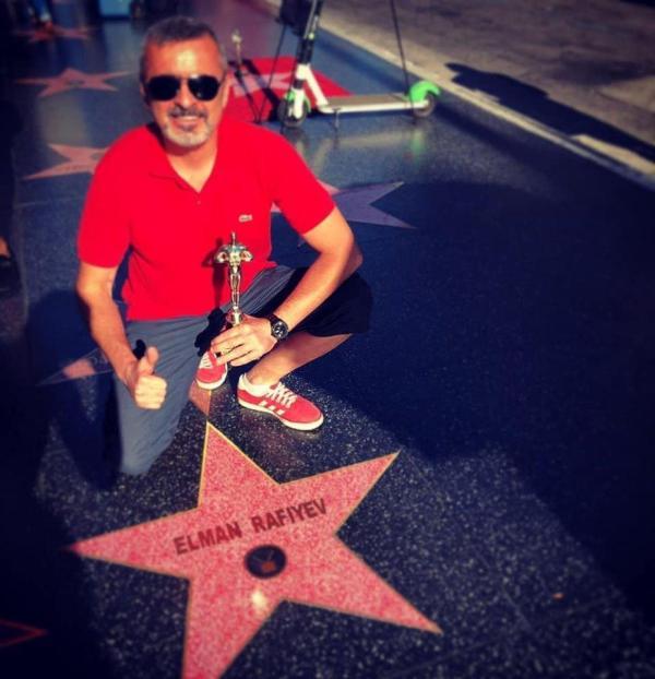 На голливудской Аллее славы появилась звезда ...