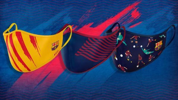 """""""Барселона"""" начала продажу защитных масок с клубной ..."""