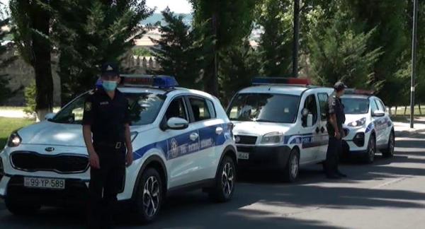 Оштрафованы прибывшие в Исмаиллы на отдых - ФОТО