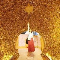 【台南聖誕節】台南聖誕節約會好去處!來去新光三越西門店探索迷宮,找尋希望噴泉~