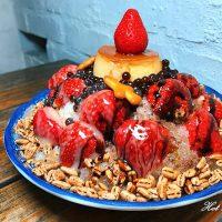 【台南冰店】台南海安路上日式風格冰店,超浮誇草莓布丁冰:尚禾黑糖粉圓冰