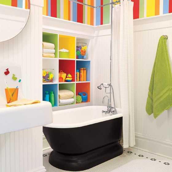 Ideas Para Decorar El Baño De Niños Muebles Nina