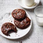 Choc Mint Brownie Cookies Recipes Delicious Com Au