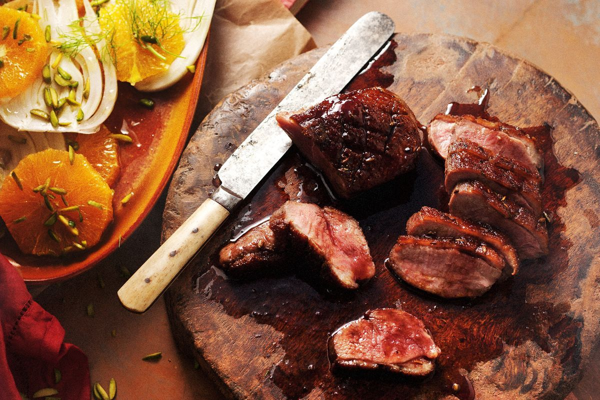 Spiced Duck Breast With Orange And Fennel Salad Recipes
