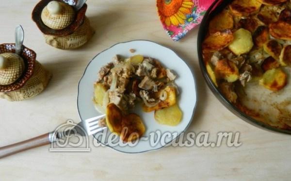 Запеченный Картофель С Мясом В Духовке Рецепт С Фото