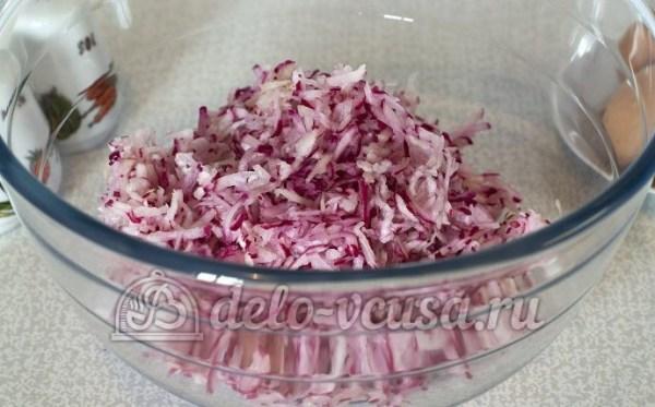Салат из редиски с яйцом пошаговый рецепт (9 фото)