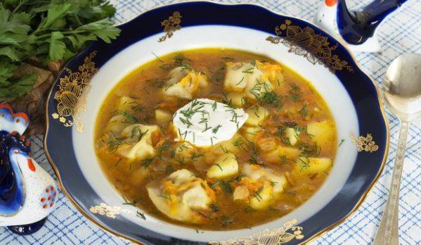 Суп из пельменей с картошкой рецепт с фото - пошаговое ...