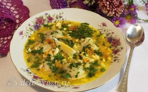 Суп с пельменями и яйцом рецепт с фото - пошаговое ...