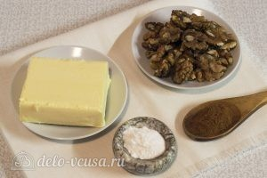 Ореховое масло из грецких орехов: Ингредиенты
