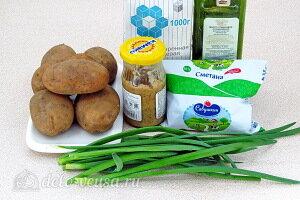 Картофель запечённый в соляной корочке пошаговый рецепт с фото