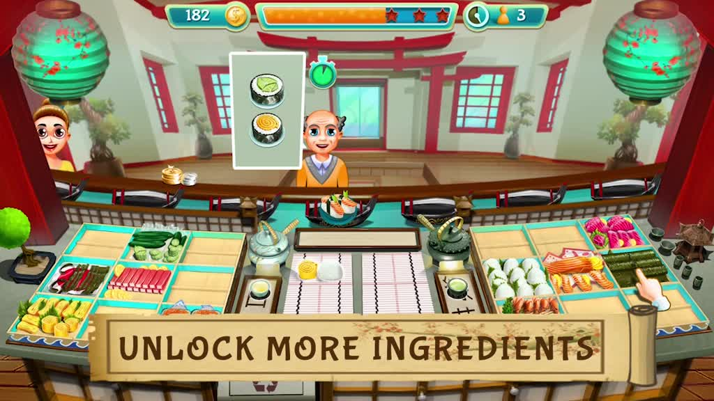 Restaurant Games Sushi Bar