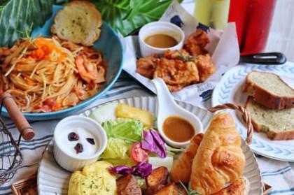 【台中x食記】Hecho做咖啡Lite&Deli。中國醫商圈。早午餐、義麵、飯食195元起。免服務費。停車便利。