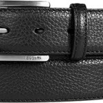 bugatti Gürtel schwarz 1113/05, Herren Mode als Weihnachtsgeschenk