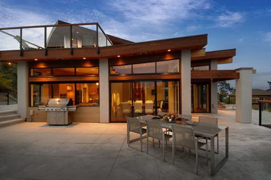 Contemporary Wooden and Glass House Designs by Keith Baker ... on Glass House Design Ideas  id=21081