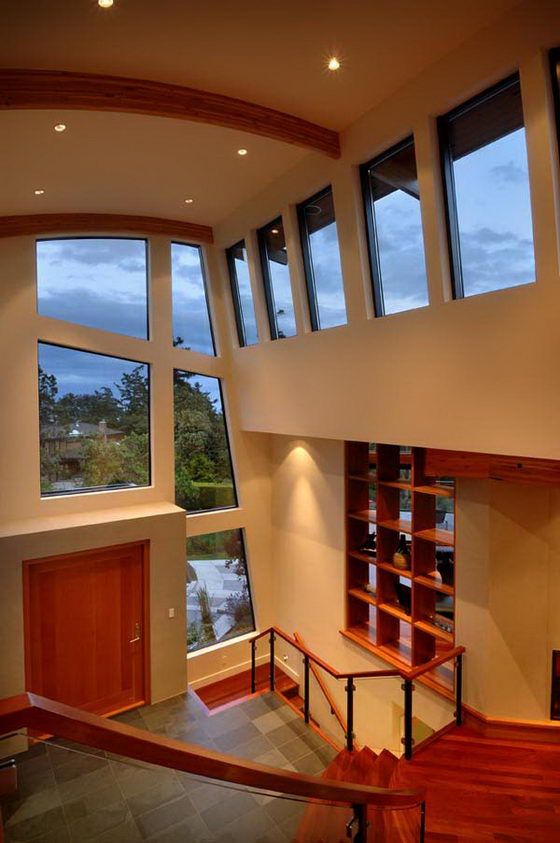 Contemporary Wooden and Glass House Designs by Keith Baker ... on Glass House Design Ideas  id=88119