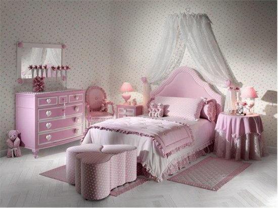 25 Beautiful and Charming Bedroom Design for Teenage Girls ... on Beautiful Teenage Bedrooms  id=47834