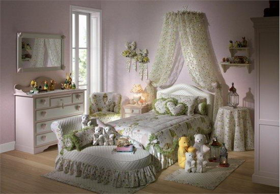 25 Beautiful and Charming Bedroom Design for Teenage Girls ... on Girls Bedroom Ideas For Very Small Rooms  id=99946