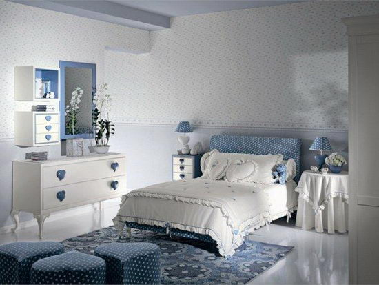 25 Beautiful and Charming Bedroom Design for Teenage Girls ... on Beautiful Rooms For Girls Teenagers  id=39816