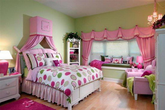 25 Beautiful and Charming Bedroom Design for Teenage Girls ... on Beautiful Room Design For Girl  id=34580