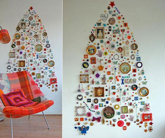 16 Creative Unconventional Christmas Tree Ideas Design Swan