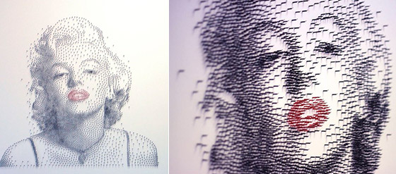 Amazing Hammer Amp Nail Stippling Artworks By David Foster Design Swan