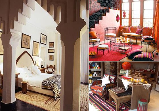 Decorating A La Tunisian Design Swan