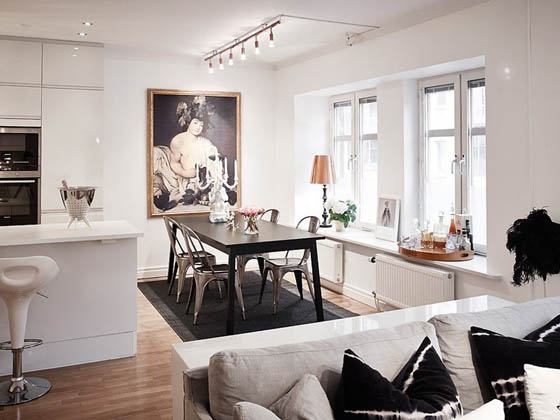 Delightful Scandinavian Apartment With A Beautiful Baby