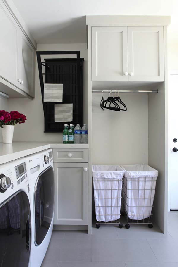 48 Inspiring Laundry Room Design Ideas - Design Swan on Laundry Decorating Ideas  id=97035
