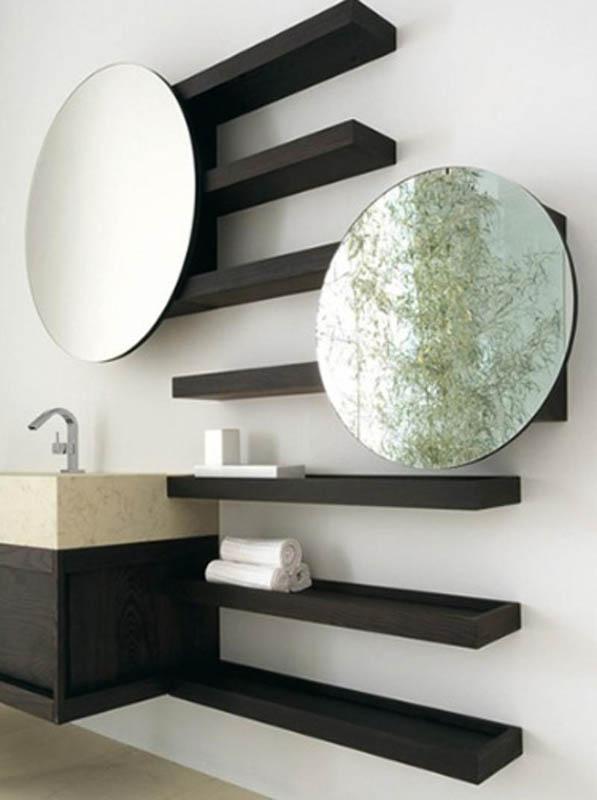 25 cool bathroom mirrors – design swan