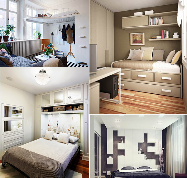20 Big Ideas for Small Bedroom Designs | Design Swan on Ideas For Small Rooms  id=30996