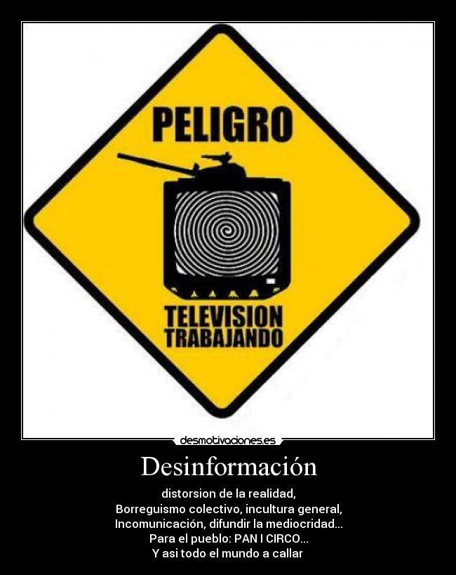 desinformacion