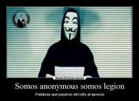 Resultado de imagen para anonymous somos legion