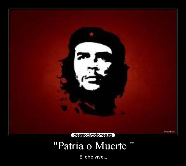 Image result for patria o muerte images