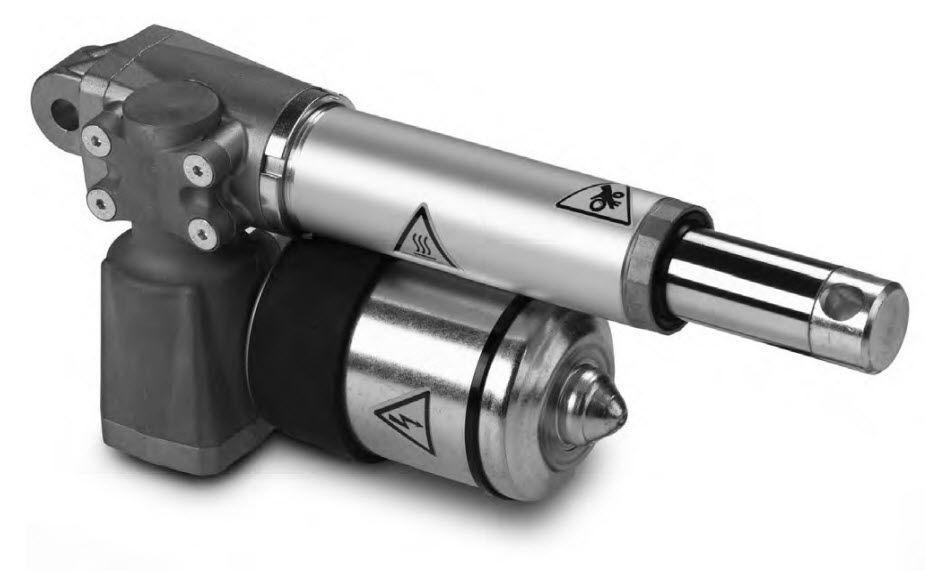 Linear actuator - HG700D - Technische Antriebselemente GmbH - electric / worm gear / with parallel motor