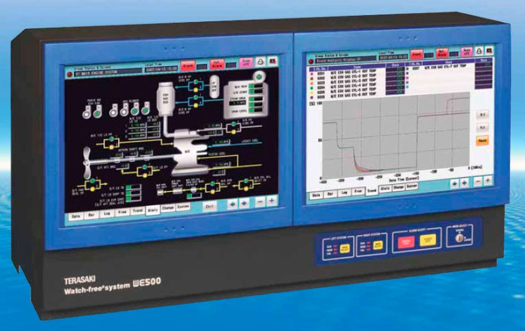 Monitoring control system   for engine   WE500   Terasaki Electric     monitoring control system   for engine   WE500
