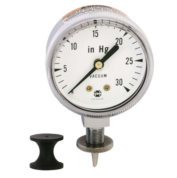 Bourdon tube vacuum gauge - 534 - AMETEK PMT Products - analog