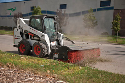 Image result for bobcat sweeper