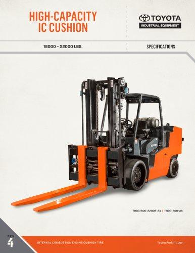 Tous les catalogues et fiches techniques (PDF) Toyota Industrial Equipment