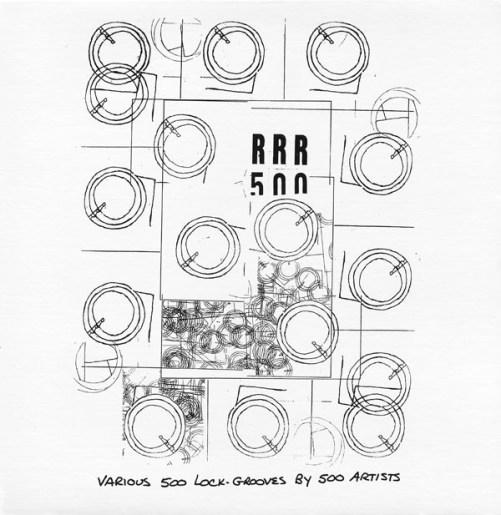 RRR 500 (Various 500 Lock-Grooves By 500 Artists) (1998, Vinyl ...