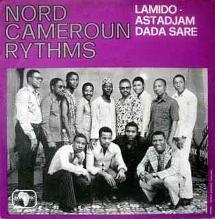 Nord Cameroun Rythms Lamido album cover