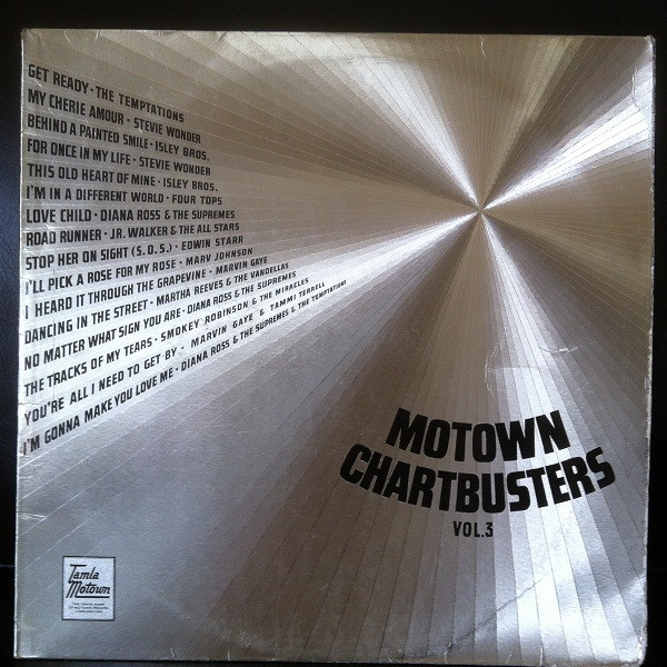 Various Motown Chartbusters Vol 3 Vinyl LP Album At