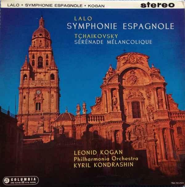 Leonid Kogan, Kiril Kondrashin, Édouard Lalo, Pyotr Ilyich Tchaikovsky Lalo Symphonie Espagnole album cover