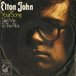Elton John - Your Song (1971, Vinyl) | Discogs