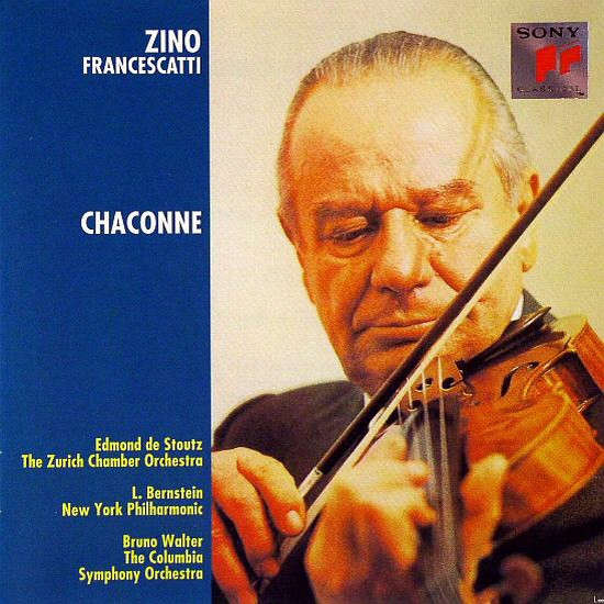 Zino Francescatti, Edmond De Stoutz, The Zurich Chamber Orchestra ...