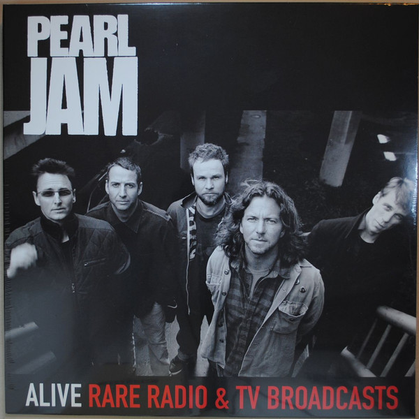 Pearl Jam - Alive Rare Radio & TV Broadcasts (Vinyl, Album ...