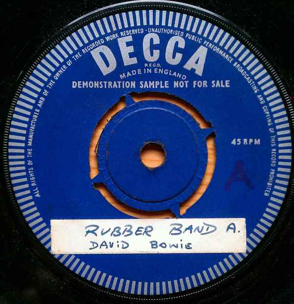 David Bowie Rubber Band album cover