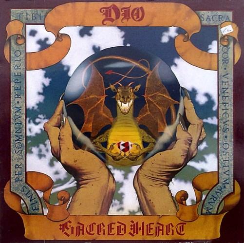 Dio - Sacred Heart (1985, Vinyl) | Discogs